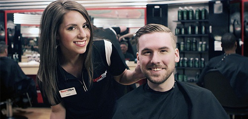 Sport Clips Haircuts of Overland Park​ stylist hair cut